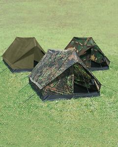Mil-tec personnes Mini pack super tente de camping tente tente tente 205x145x100cm
