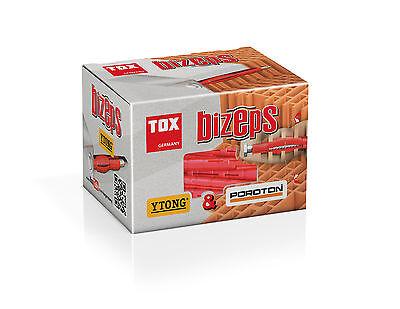 Tox PSD-SL Dübel 8x90 für Poroton u.a. --- 50er Pack