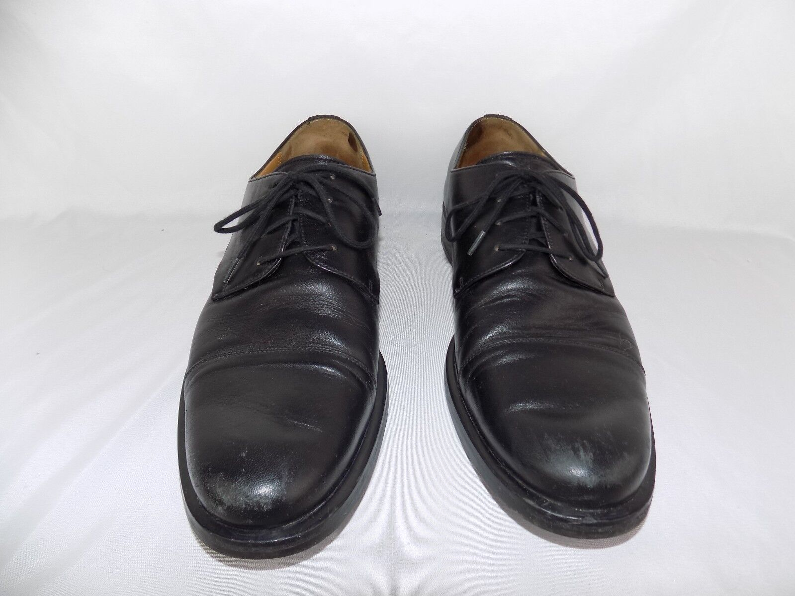 Bally Men's nero Leather Loafers Loafers Loafers Dimensione 8.5 D Selco 828cb8