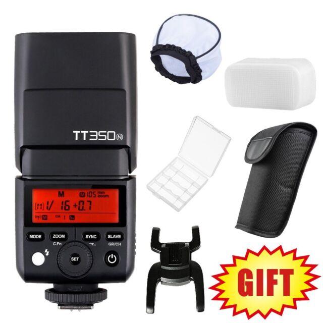 Godox TT350N GN36 2.4G TTL HSS Mini Flash Speedlite for Nikon Mirrorless Camera