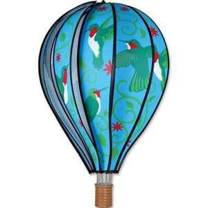 "Premier Kites Hot Air Balloon HUMMINGBIRD Wind Spinner (25774 - 22"" size)"