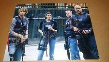 NCIS LA CAST SIGNED 11X14 PHOTO W/ COA AUTOGRAPHED LL COOL J ODONNELL OLSEN RUAH