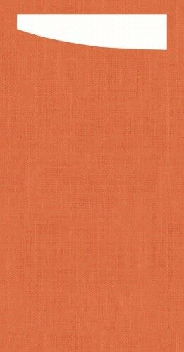 Duni SACCHETTO 230x115mm Dunisoft Servietten ,mandarin Servietten weiß - 4x60 St | Sehr gelobt und vom Publikum der Verbraucher geschätzt  |