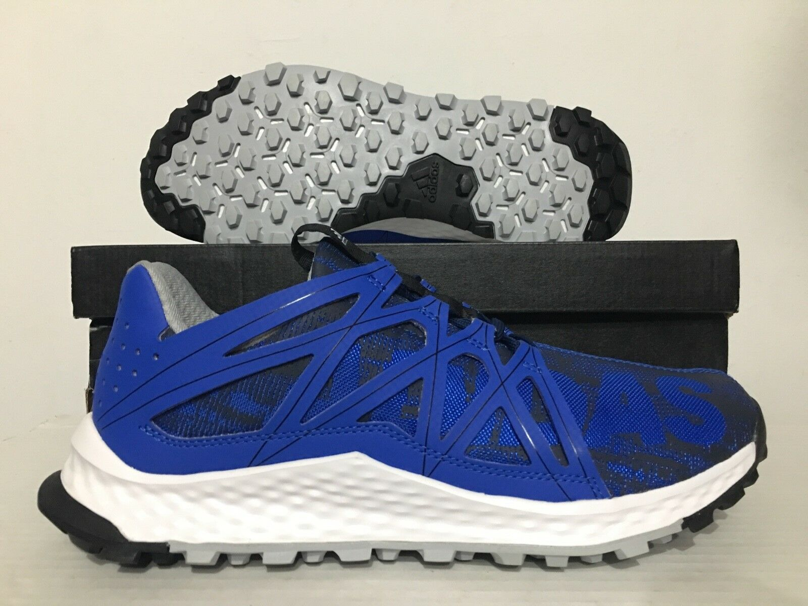 timeless design f0ea1 78302 ... Adidas Vigor Bounce M Chaussures Course Randonnée Randonnée Randonnée  Bleu  B42765  Noir  BW0399 ...