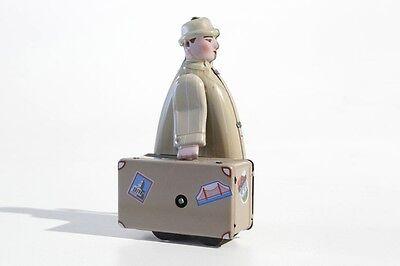 Blechspielzeug Koffermann Aufziehmodell °° Tin Toy °° Jouet En Tôle °° Wir Haben Lob Von Kunden Gewonnen Figuren
