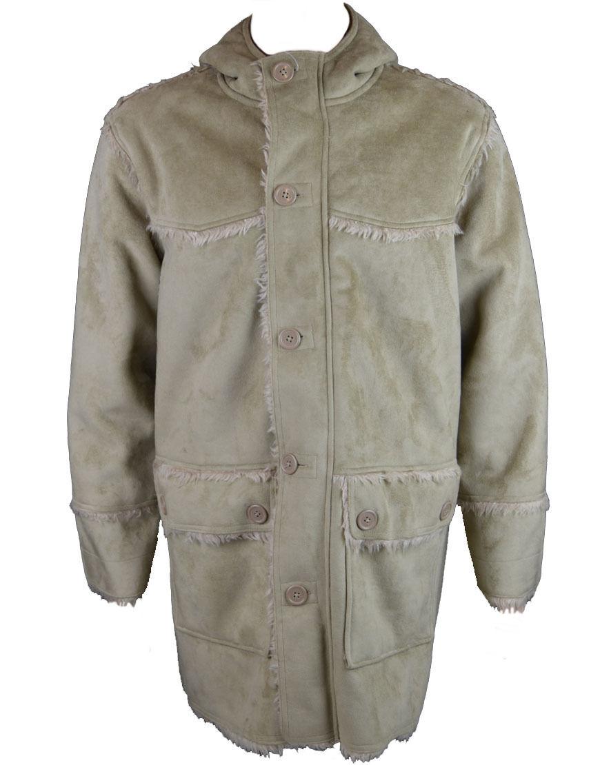 Soul Bredher Men's Hooded Coat Brown (SBJK001a)