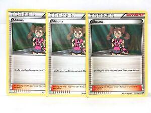 3x-Shauna-72-83-127-146-Pokemon-XY-Generations-Trainer-NM