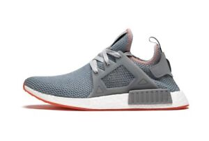 24f7337596401 New Size 9.5 ADIDAS NMD XR1 Originals Grey Gray Solar Red BY9925 ...
