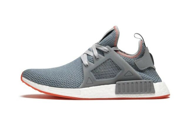 9e75f5ab6 New Size 9.5 ADIDAS NMD XR1 Originals Grey Gray Solar Red BY9925 Running  Shoe