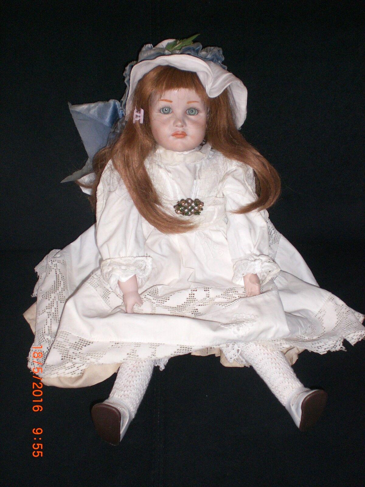 Porzellanpuppe Puppen  2 Stück