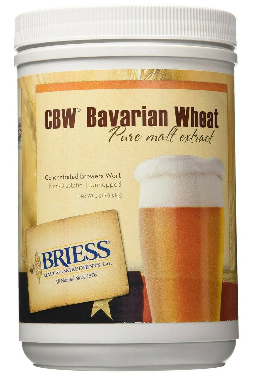Briess Bavarian Wheat Liquid  Malt Extract for Home Brew Beer Making 2