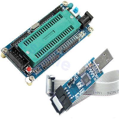 AVR Minimum ATMEGA16 System Board ATmega32 + USB ISP USBasp Programmer For ATMEL