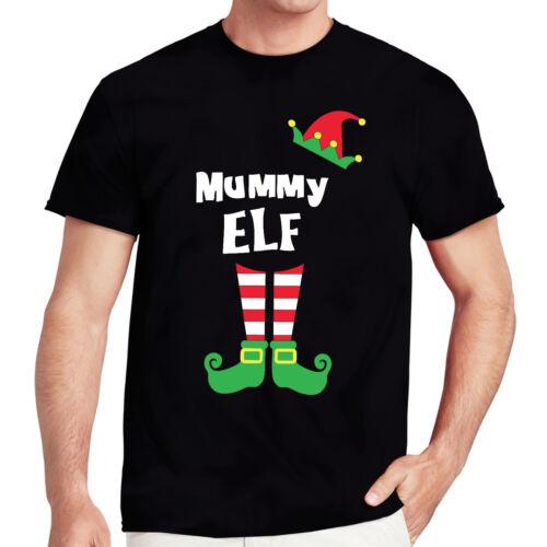 Elf Family Tee Mummy Daddy Nanny Kids Ladies Unisex Xmas Movie Gift Inspired top