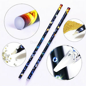 2Pcs-Nail-Art-Wax-Picking-Pen-Picker-DIY-Tool-For-Rhinestones-Gems-Crystal-Beads