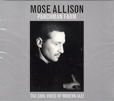MOSE ALLISON - PARCHMAN FARM - THE COOL VOICE OF MODERN JAZZ (NEW SEALED 2CD)