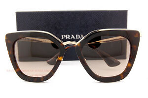 04b656481cc0 Brand New Prada Sunglasses PR 53SS 2AU 3D0 Havana Brown Gradient ...