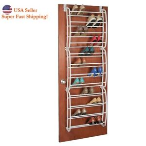 Image Is Loading DH Over The Door 36 Pair Shoe Organizer