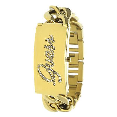 Guess Damen Armbanduhr gold EBW0321L2