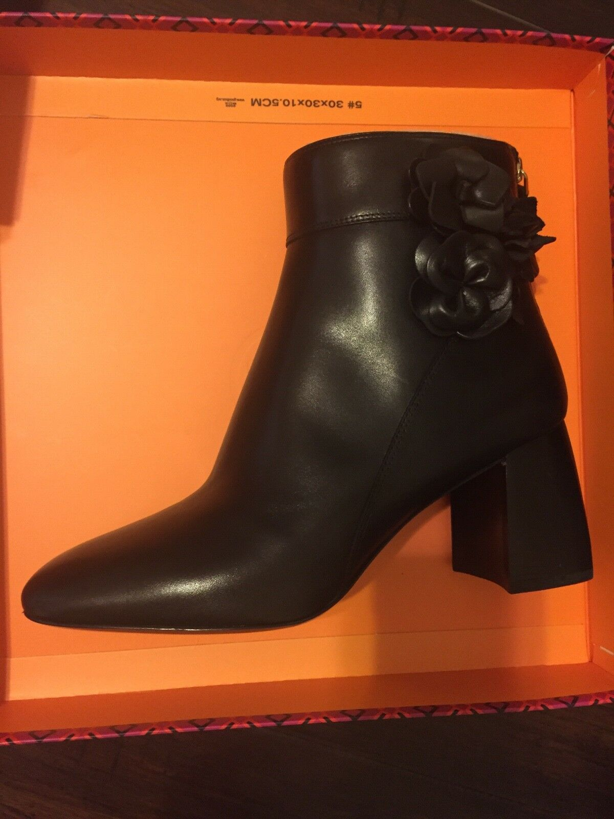 Tory burch boots, brand new with box, black, size 9