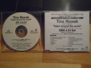 Details about RARE PROMO JAPAN Tina Novak CD Been Around the World r&b  Summertime BUTTAPHLY !