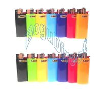 Mini Bic Lighters Assorted Colors Disposable 10 Lighters