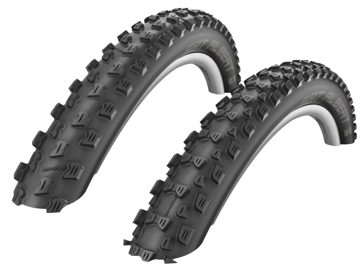 Schwalbe Fat Albert Front+Rear Evo Tire (Set ) 60-584 (27, 5x2, 35  ) 650b