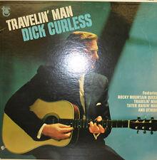 DICK CURLESS - TRAVELIN MAN -  TOWER REC. T5015 LP (X386)