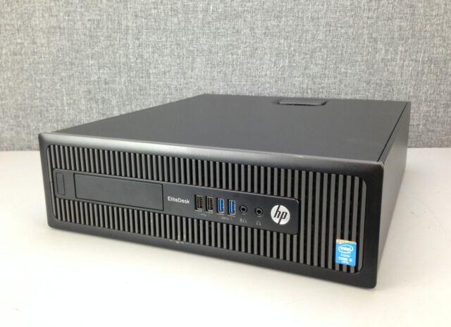 HP EliteDesk 800 G1 SFF PC, CPU i5-4570, 8GB di RAM, unità disco rigido da 1TB, WiFi, Windows 10