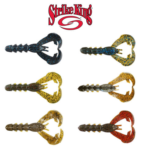 s Select Color Strike King Rage Tail Lobster Soft Plastic Bait