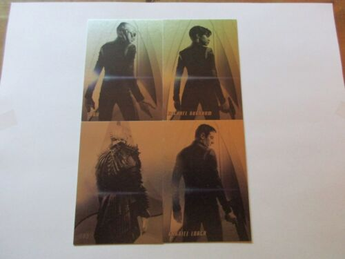 Star Trek Original Series Captains Collection Discovery Preview Insert Set TOS
