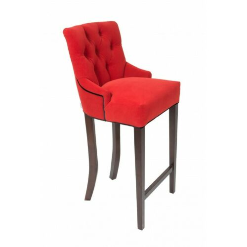 Bar Stool 2er Set Fabric Design Bar Stools Bar Stool Bar Chairs Velvet