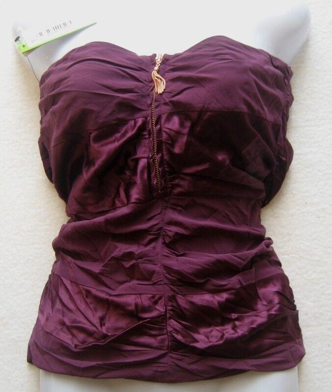 Alice + Olivia damentop Rouched Mini Skirt Größe EU 36 UK 8