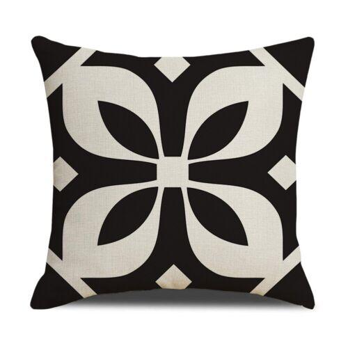18/'/'Square Throw Linen Waist Geometric Pillow Cover Case Sofa Cushion Home Decor