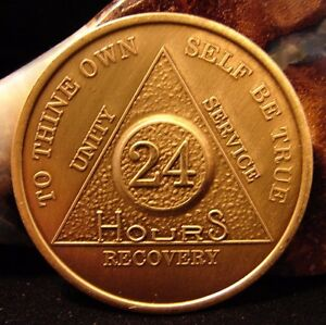 24 hour sobriety coin
