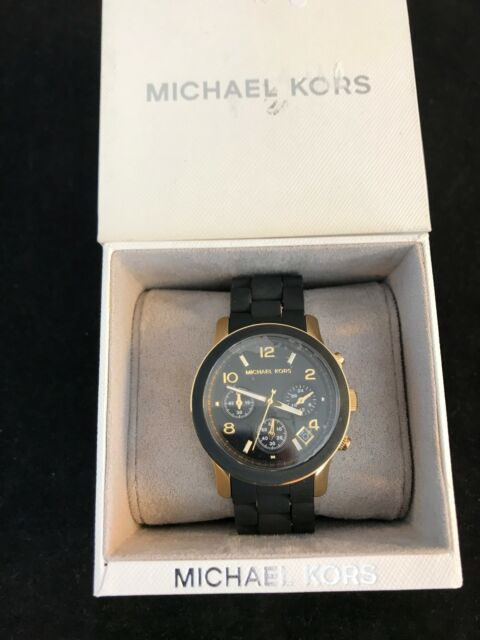 2e44f0ade254 BNIB MICHAEL KORS Ladies MK5191 Black and Gold Watch £237 on Amazon SAVE £37
