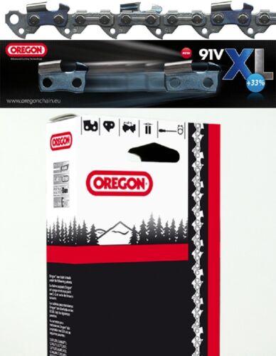 "GENUINE OREGON 91VXL CHAINSAW CHAIN BLADE FOR RYOBI RCS3335 18/"" 1.3mm 3//8/"""