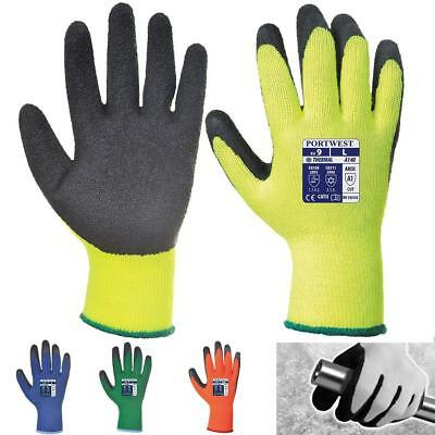 12 X Portwest Insulated Thermal Grip Builder Outdoor Warm Work Gloves A140 ZuverläSsige Leistung