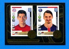 FIFA 365 2016-17 Panini 2017 Figurina-Sticker n. 11 -LEWANDOWSKI-IBRAHIMOVIC-New