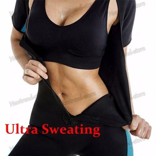 Long Torso Waist Trainer Full Body Corset Sport Yoga Bodysuit Sauna Shaper Sweat