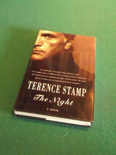 Terence Stamp  Hb SIGNED 1/1 1993  THE NIGHT