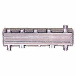 Heizkreis-Kombiverteiler Easyflow Type HV60/90W M. Hydr. Soft Incl. Isol For 3