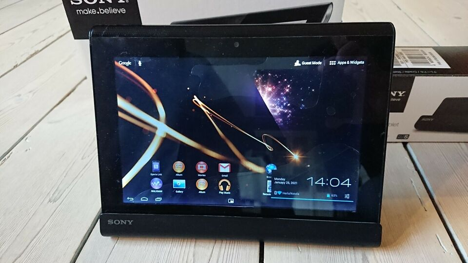Sony, S, 9.4 tommer