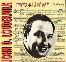 """JOHN DEE LOUDERMILK """"SITTIN IN THE BALCONY"""" 50'S ROCKABILLY ROCK LP VINYL JAUNE"""