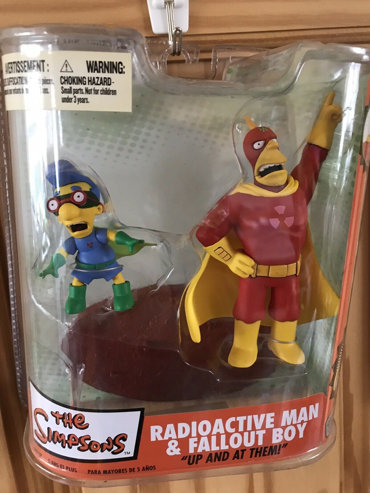 The Simpsons - Radioactive Man & Fall Out Boy Rare McFarlane Toys Set