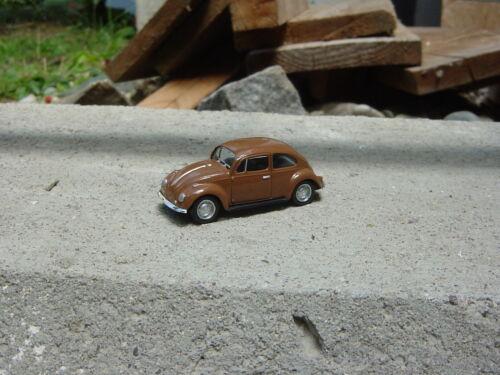 Herpa-VW Escarabajo-Braun-calendario de Adviento 2007-1:87