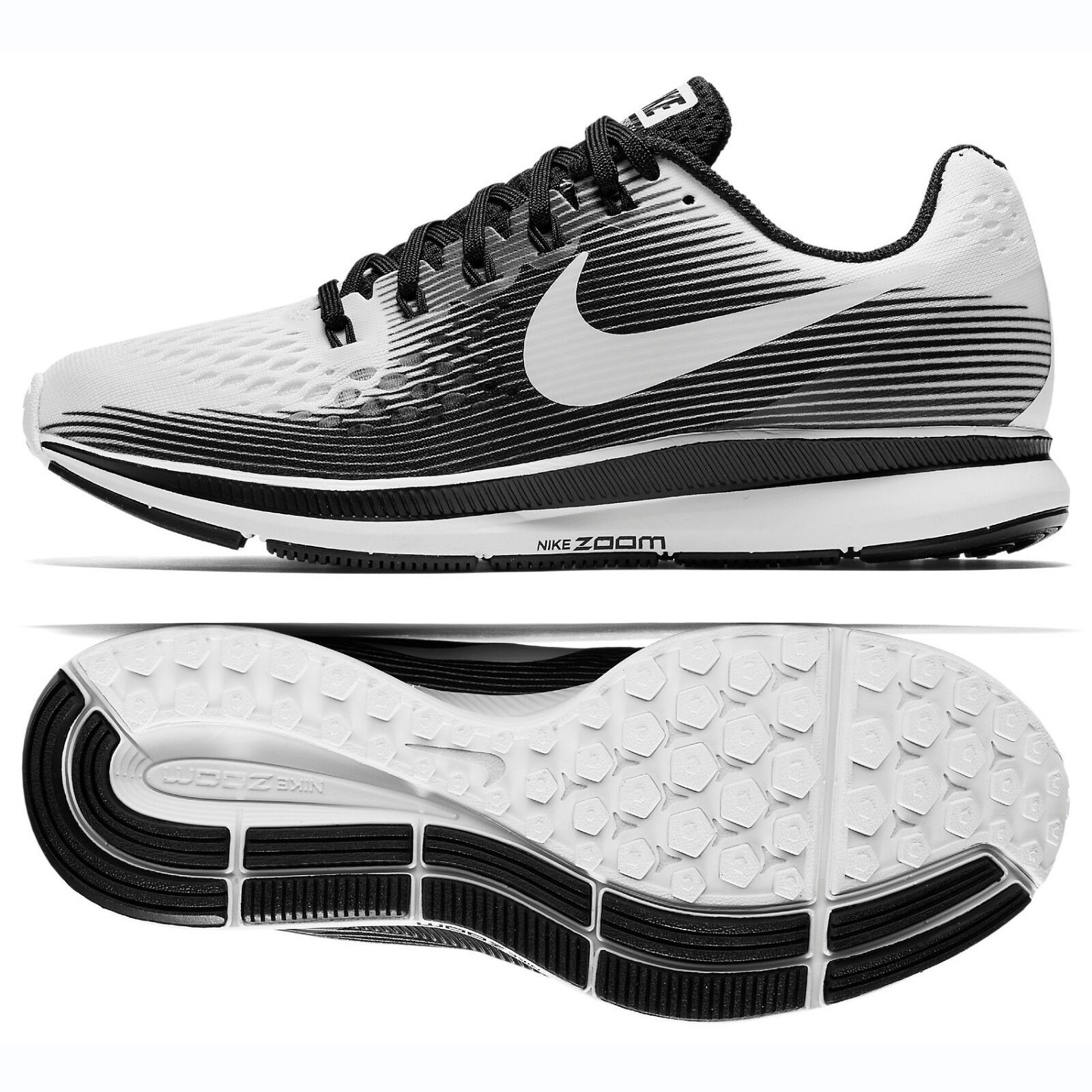Nike Nike Nike WMNS Air Zoom Pegasus 34 LE 883269-100 bianca nero Donna  Running scarpe 23fc13