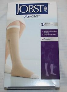 RT + LT Jobst Ulcercare 40 mmHg Medical Compression Stockings NO ... a284023329f9