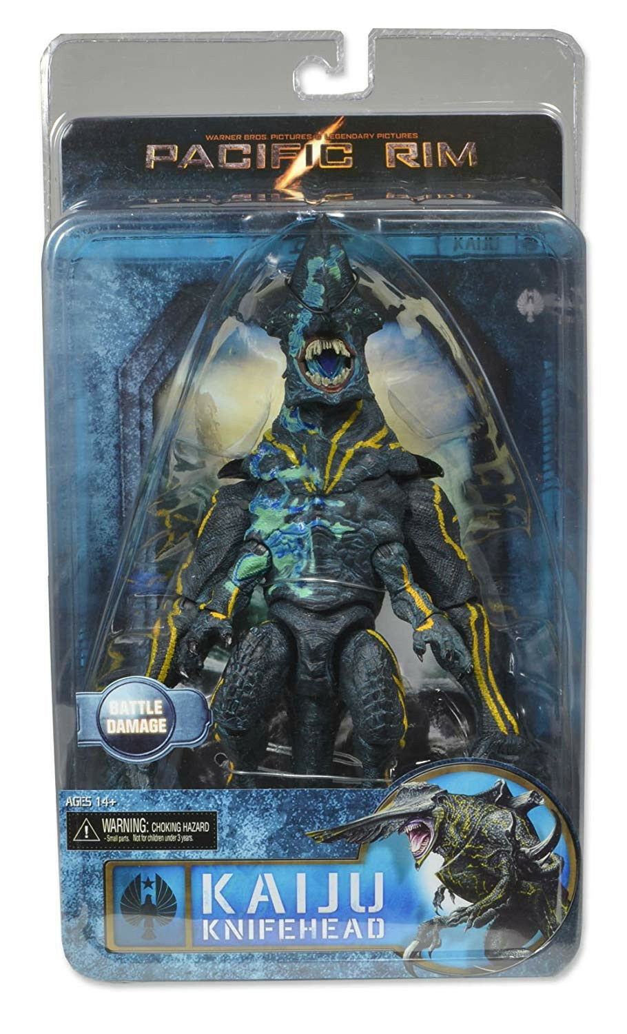 Pacific Rim Series 3 - Kaiju Ultra Deluxe Knifehead figure
