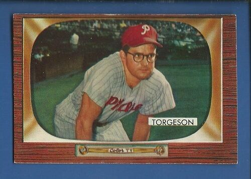 1 of 1 - 1955 Bowman # 210 Earl Torgeson  Philadelphia Phillies  EX+ Additional ship free