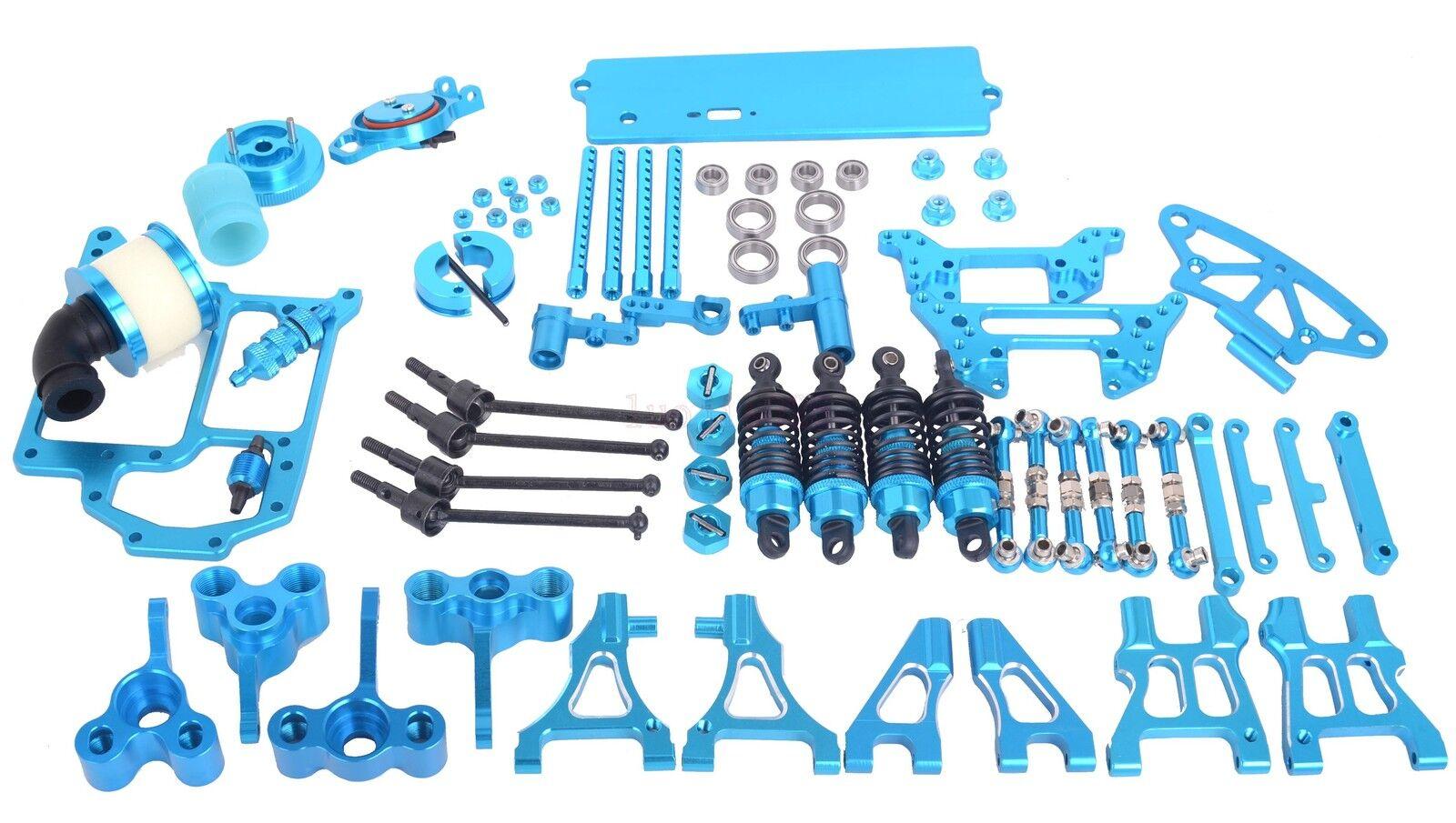 Piezas de actualización combinar Azul Para Hsp Nitro Rc 1 10 de carretera coche Xstr 94122